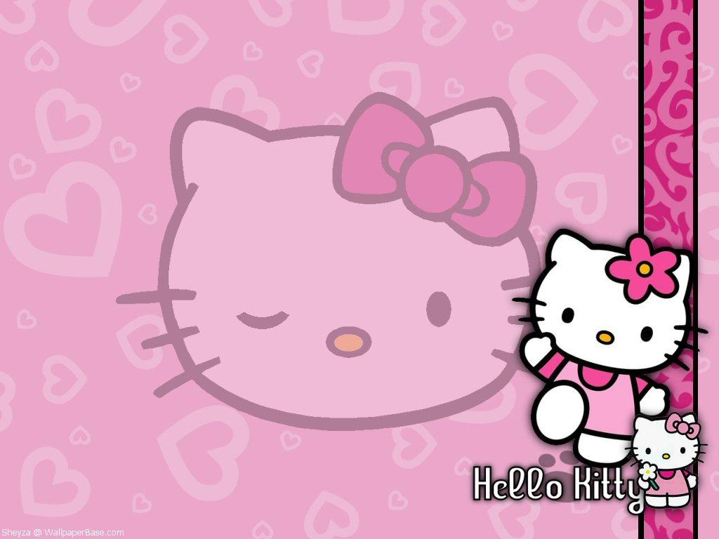 Marvin Eley Below Hello Kitty Wallpaper